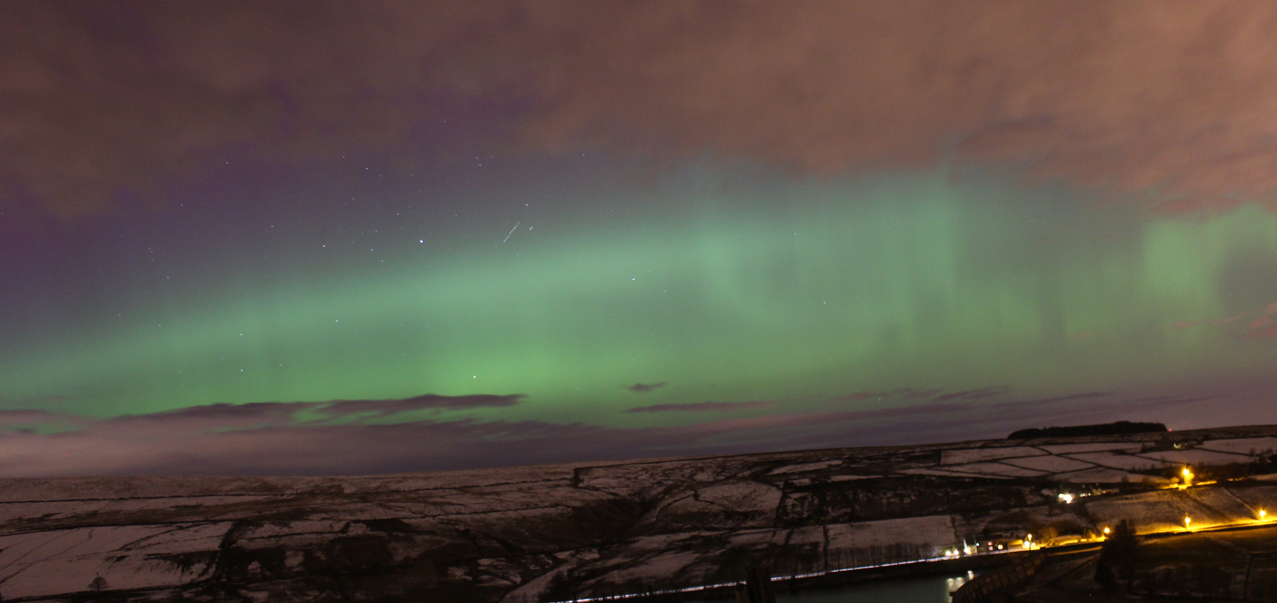 The Aurora taken by Sarah Hall & Colin Campbell