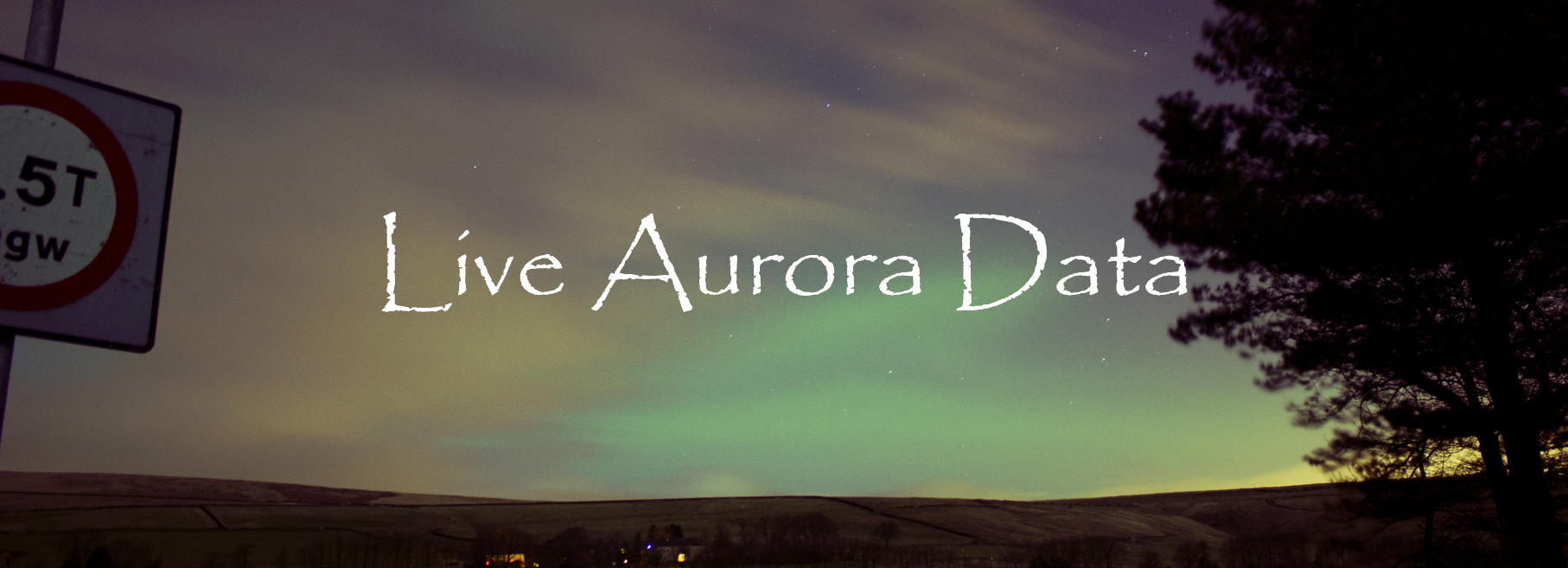 Live Aurora Data (Image by Sarah Hall & Colin Campbell)